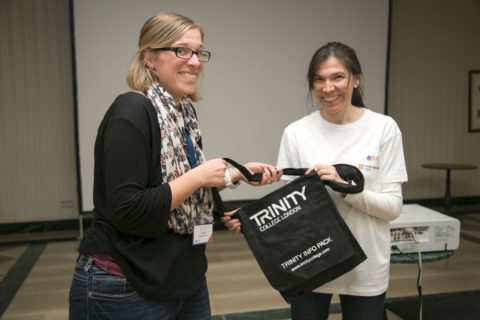 Prizegivers Trinity t shirt and bag
